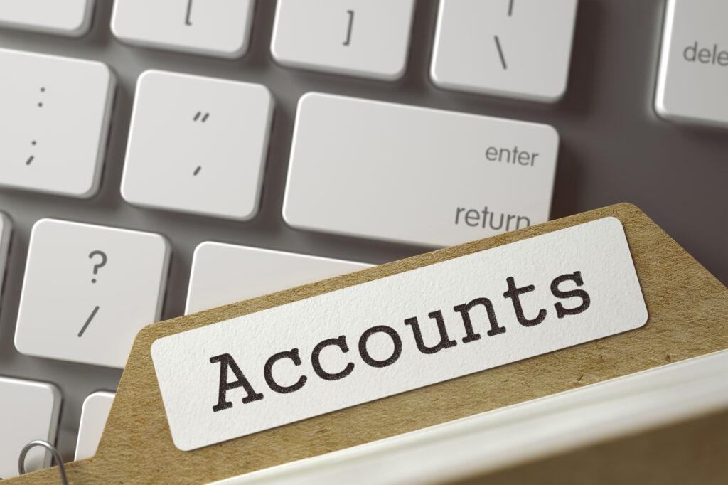 accounts file